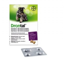 Bayer DRONTAL DOG FLAVOUR 2 TBL.